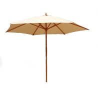 See more information about the Wooden Large Garden Umbrella Parasol 2.4M