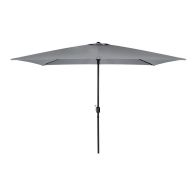 See more information about the Rectangular Garden Umbrella Parasol Light Grey 3M x 2M