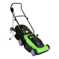 See more information about the Electric Wheeled Garden Lawnmower with Collection Bag