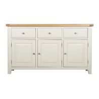 See more information about the Harmony White 3 Doors 3 Drawers Sideboard