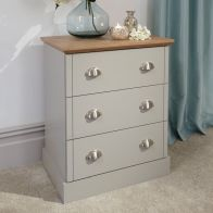See more information about the Kendal 3 Drawer Chest of Drawers Grey