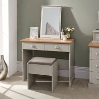 See more information about the Kendal Dressing Table & Stool Set Grey