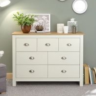 See more information about the Lancaster Merchants Chest of Drawers Cream