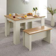 See more information about the Lancaster 120cm Dining Set Cream