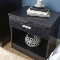 See more information about the Melbourne Black Bedside Cabinet