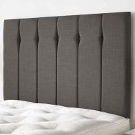 See more information about the Ambleside Weave Fabric Grey 5ft King Size Bed Headboard