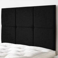 See more information about the Calder Weave Fabric Black 5ft King Size Bed Headboard