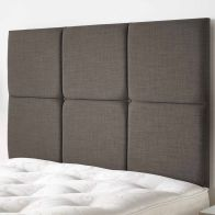 See more information about the Calder Weave Fabric Grey 5ft King Size Bed Headboard