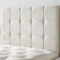 See more information about the Frampton Mirrazi Velvet Pearl 5ft King Size Bed Headboard