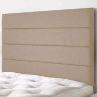 See more information about the Langston Weave Fabric Brown 5ft King Size Bed Headboard