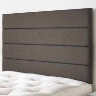 See more information about the Langston Weave Fabric Grey 5ft King Size Bed Headboard