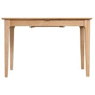 See more information about the Bayview Light Oak 1.2m - 1.6m Extending Dining Table