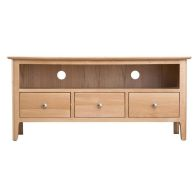 See more information about the Bayview Light Oak 3 Drawer TV Cabinet