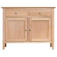 See more information about the Bayview Light Oak 2 Door 2 Drawer Sideboard