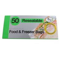 See more information about the 50 Pack Zip Lock Food Bags