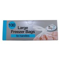 See more information about the 100 Freezer Bag Tie Handles