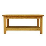 See more information about the Montacute Oak Medium 1 Shelf Coffee Table