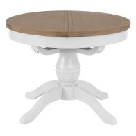 See more information about the Lighthouse Oak 1.1m Dining Table White
