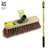 See more information about the National Trust Bassine Garden Sweeping Broom with Handle Natural 12""