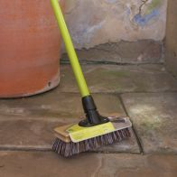 See more information about the National Trust Bassine Garden Scrubbing Broom with Scraper 9""