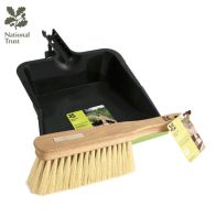 See more information about the National Trust Large Plastic Dustpan & Soft Natural Hand Brush Set