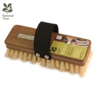 See more information about the National Trust Natural Fibre Garden Hand Scrub Brush 8""