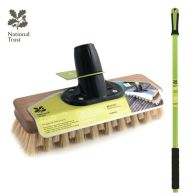 "See more information about the National Trust Garden 9"" Dexter Moss Buster Deck Broom & Scraper"