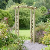 See more information about the Starlight Wooden Garden Arch